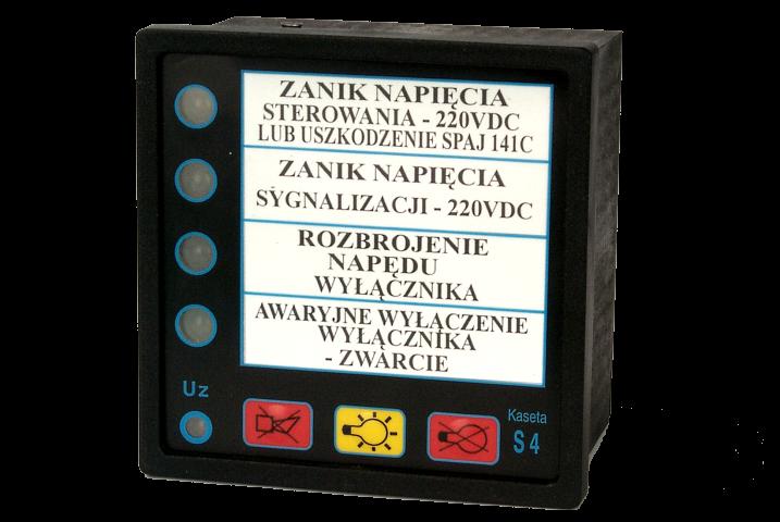 Kaseta synoptyczna S4C-E