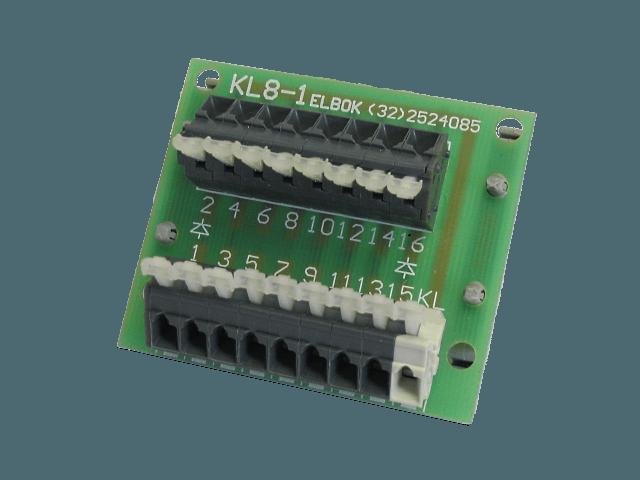 Moduł koltroli pracy lampek KL8-1