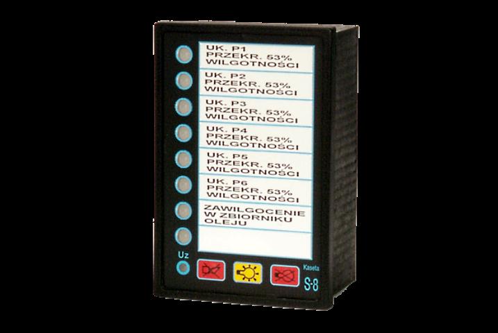 Kaseta synoptyczna S8B-Ew-2