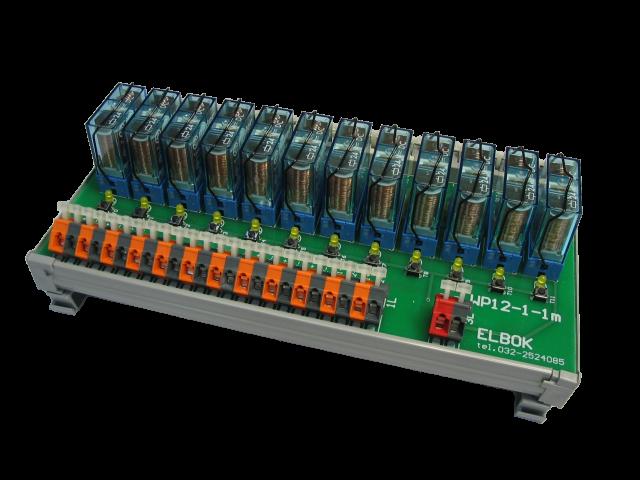 Listwa przekaźnikowa WP12-1-1