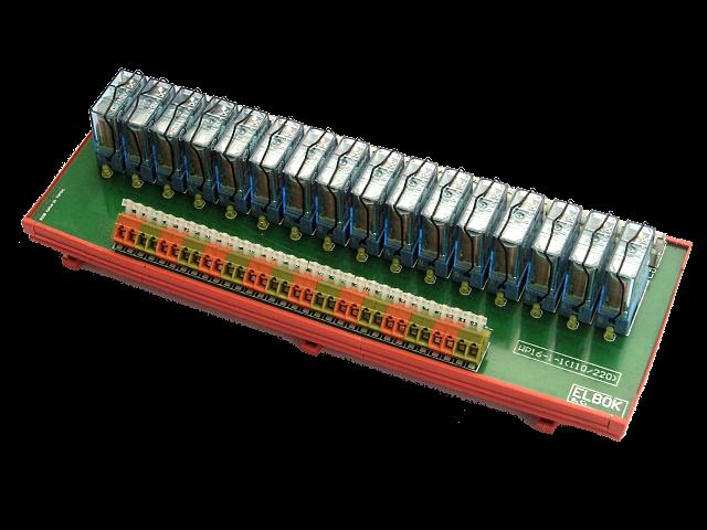 Listwa przekaźnikowa WP16-1-1-230