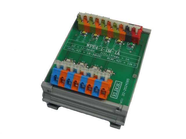 Listwa przekaźnikowa WPE4-1-1M-1A