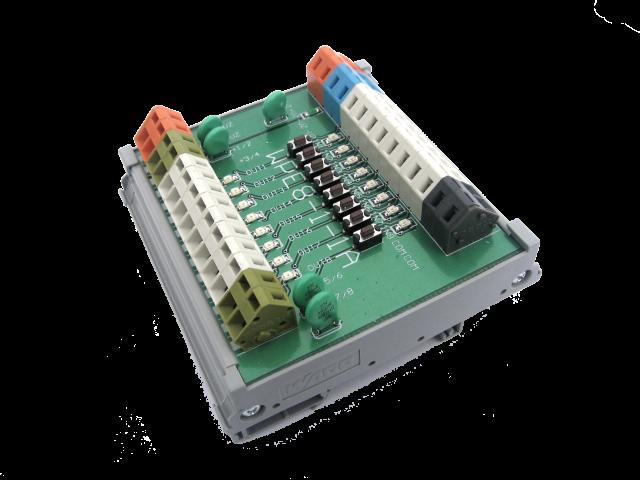 Listwa przekaźnikowa WPE8-1-1A